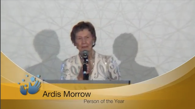 Congrats to Ardis Morrow, 2015 Person of the Year